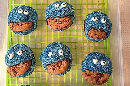 Krümelmonster-Muffins 19