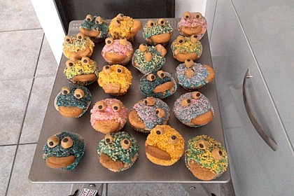 Krümelmonster-Muffins 20