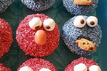 Krümelmonster-Muffins 56