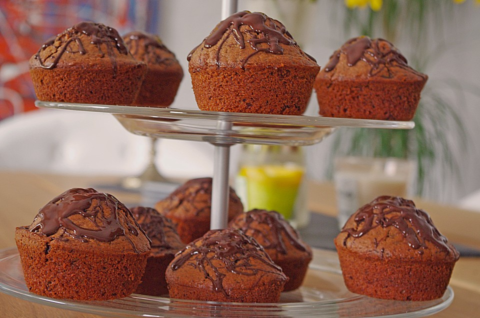 schoko muffins rezept mit bild von f a. Black Bedroom Furniture Sets. Home Design Ideas