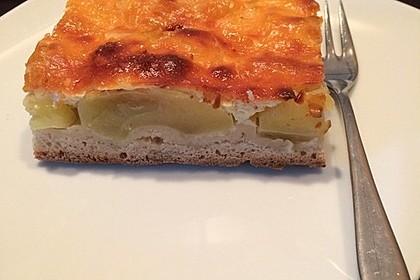 Apfel - Sauerrahm - Kuchen