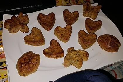 Lauch - Zwiebel - Zucchini - Feta - Knoblauch - Kuchen mit Speckwürfeln 3