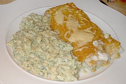 Schlemmerfilet à la Bordelaise mit Gurkensalat und Stampfkartoffeln 5