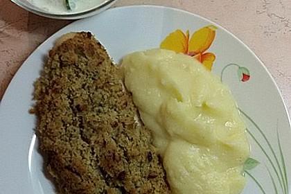 Schlemmerfilet à la Bordelaise mit Gurkensalat und Stampfkartoffeln 3