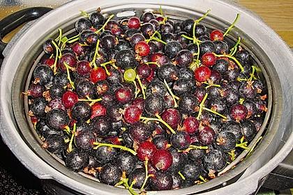 Beeren entsaften im Schnellkochtopf 5