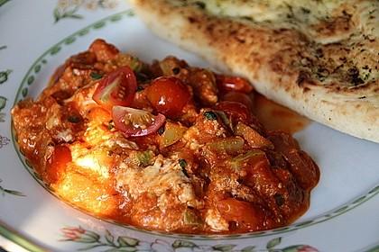 Tomaten - Zucchini - Pfanne mit Fetakäse 1