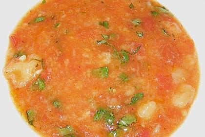 Eichkatzerls toskanische Tomatensuppe