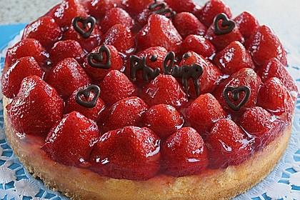 Erdbeer - Käsekuchen