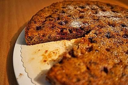 Kirsch - Nuss - Kuchen 1