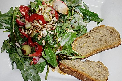Rucola - Radieschensalat mit Feta 7