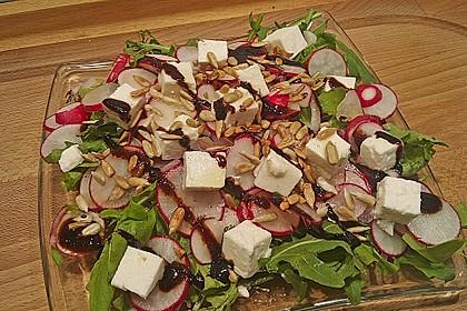 Rucola - Radieschensalat mit Feta 6