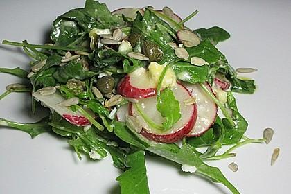 Rucola - Radieschensalat mit Feta 9