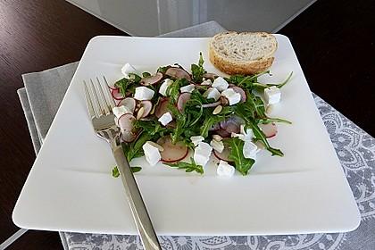 Rucola - Radieschensalat mit Feta 3