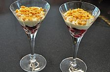 Knuspriges Beeren - Dessert