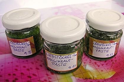 Liebstöckl (Maggikraut) - Paste 15