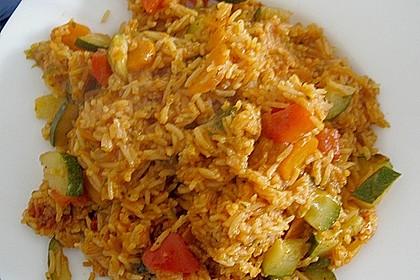Würziger Gemüse - Reis - Topf 2