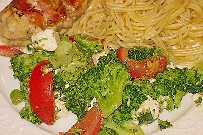 Mediterraner Brokkoli Salat 26