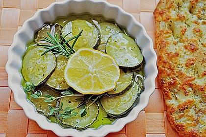 Zucchini mariniert 1