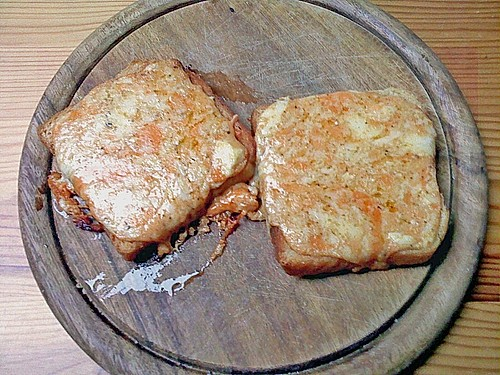 Schnelle Käse Toasts - Welsh Rarebits á la Merceile 4