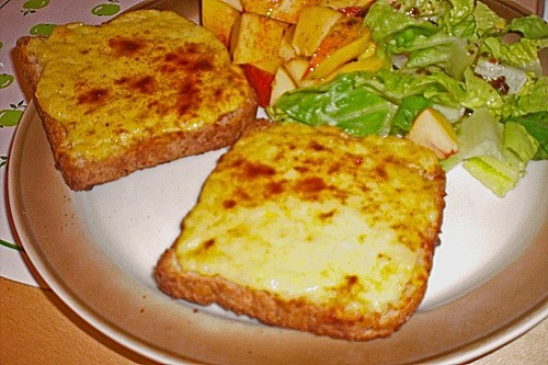 Schnelle Käse Toasts - Welsh Rarebits á la Merceile 10