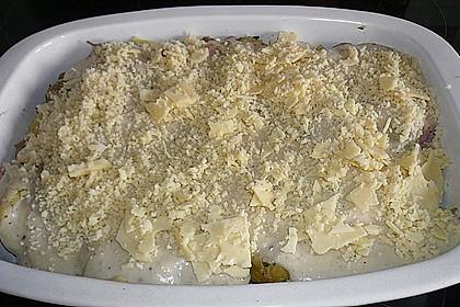 500 g - Kartoffel - Rosenkohl - Kasseler - Gratin 7