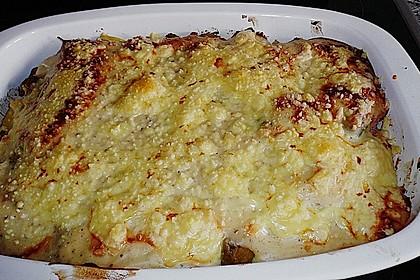 500 g - Kartoffel - Rosenkohl - Kasseler - Gratin 1