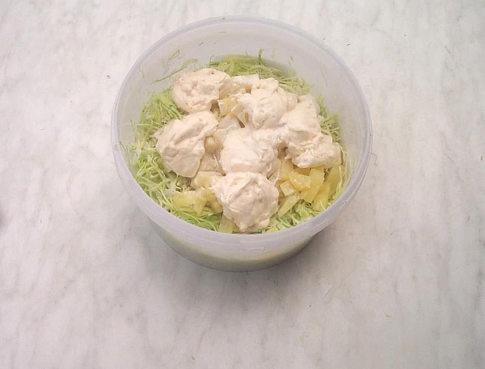 Weißkohlsalat mit sahne thermomix