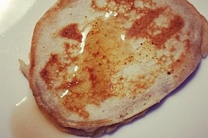 Süße Pfannkuchen vegan 16