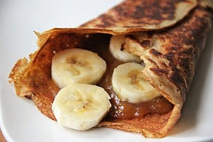 Süße Pfannkuchen vegan 5