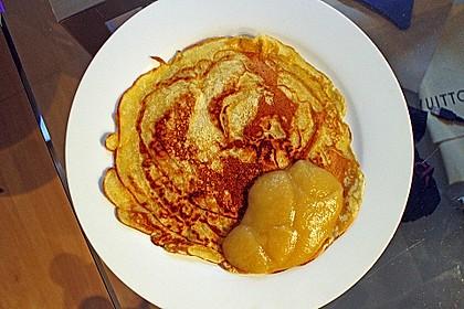 Süße Pfannkuchen vegan 9