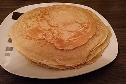 Süße Pfannkuchen vegan 11