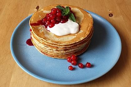Süße Pfannkuchen vegan 0