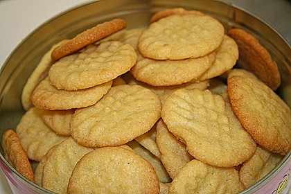 Englische Ingwer - Kekse 3