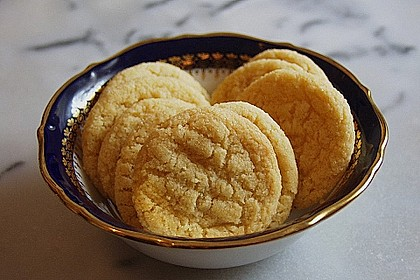 Englische Ingwer - Kekse 4