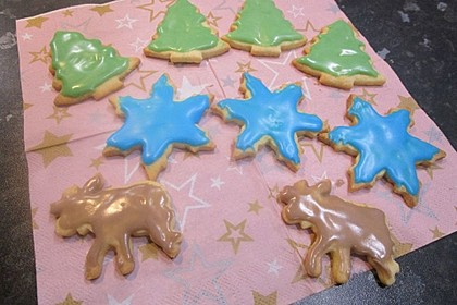 Kekse oder Plätzchen zum Ausstechen 29