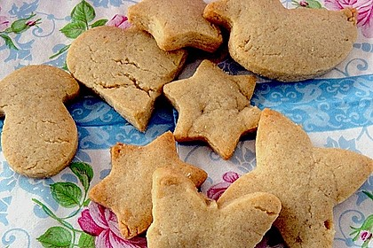 Kekse oder Plätzchen zum Ausstechen 25