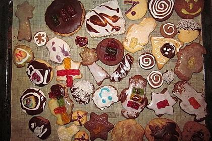 Kekse oder Plätzchen zum Ausstechen 21