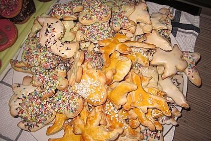 Kekse oder Plätzchen zum Ausstechen 19