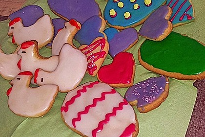 Kekse oder Plätzchen zum Ausstechen 13