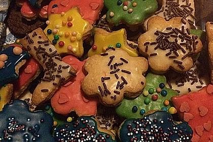Kekse oder Plätzchen zum Ausstechen 12