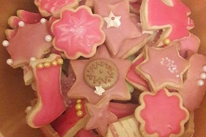 Kekse oder Plätzchen zum Ausstechen 8