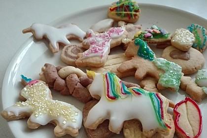 Kekse oder Plätzchen zum Ausstechen 9