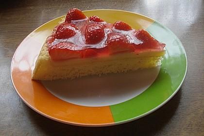 Erfrischender Erdbeerkuchen 10