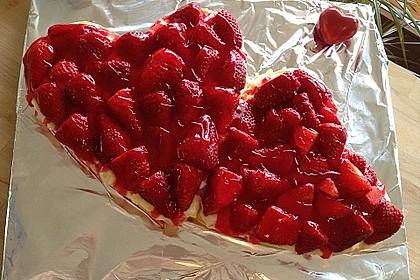 Erfrischender Erdbeerkuchen 1