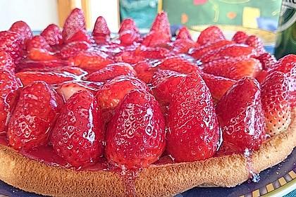 Erfrischender Erdbeerkuchen 2