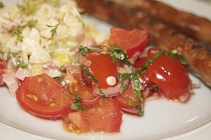 Tomatensalat auf italienische Art 4