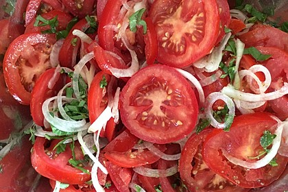 Tomatensalat auf italienische Art 3