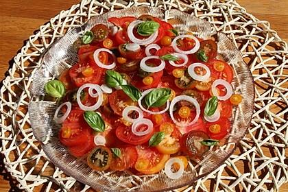 Tomatensalat auf italienische Art 1