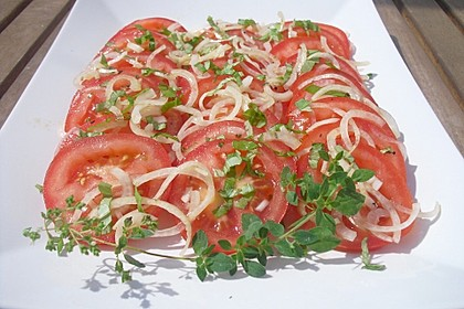 Tomatensalat auf italienische Art 10