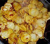 Rindfleisch - Geschnetzeltes süß und scharf (Bild)